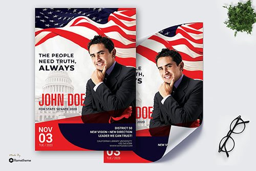 Election John Doe - Political PSD Poster RB