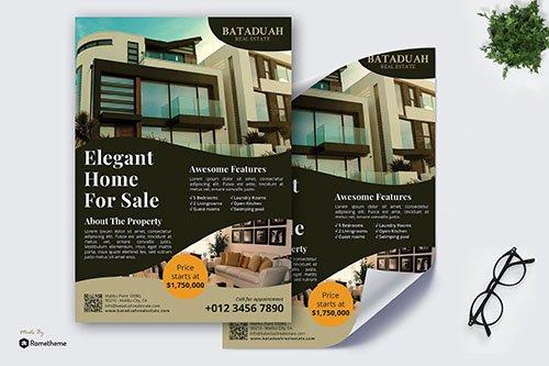 Bataduah Real Estate - Promotion PSD Poster RB