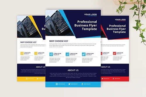 Sanstemp - Modern & Professional PSD Flyer