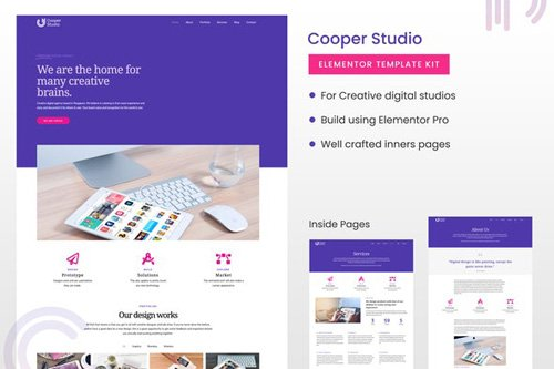 ThemeForest - Cooper Studio v1.0 - Elementor Template Kit - 26642693