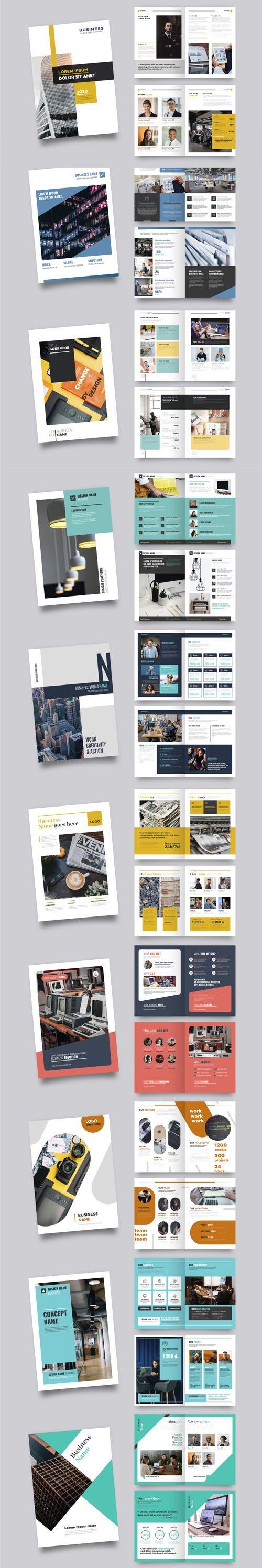 Top 10 Professional Brochure Vector Templates