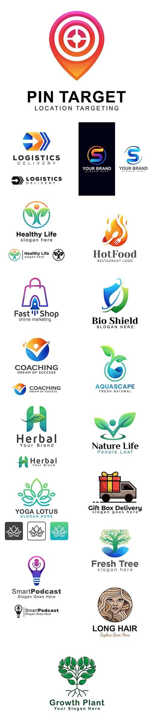 Collection of Logo Vector Templates