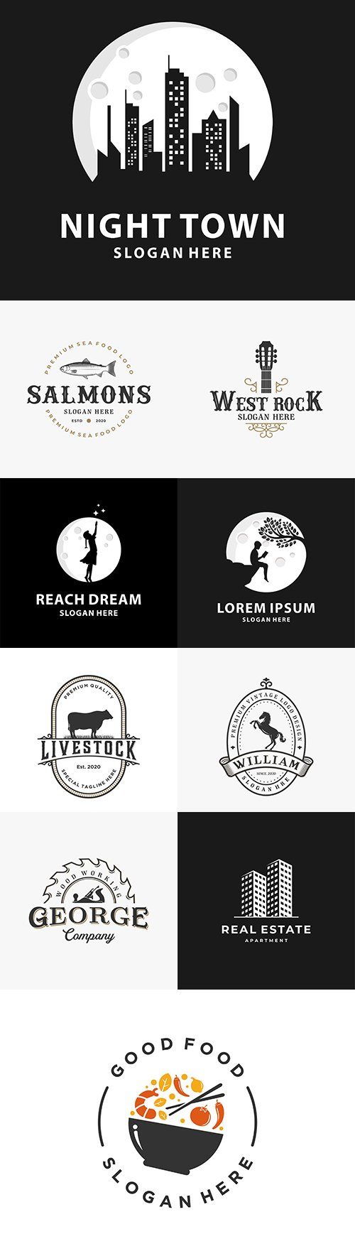Brand name company logos business corporate design 12