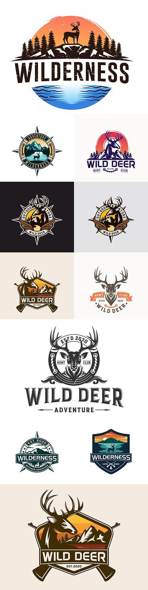 Wilderness brand name company logos corporate design