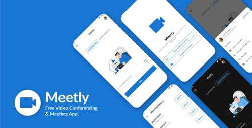 CodeCanyon - Meetly v1.12 - Free Video Conferencing & Meeting App - 26805769