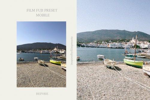 CreativeMarket - Mobile Lightroom Fuji Film Preset 4964770