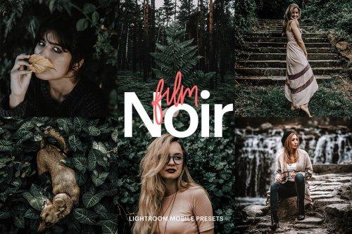 CreativeMarket - Lightroom Preset-Film Noir Theme 4973155