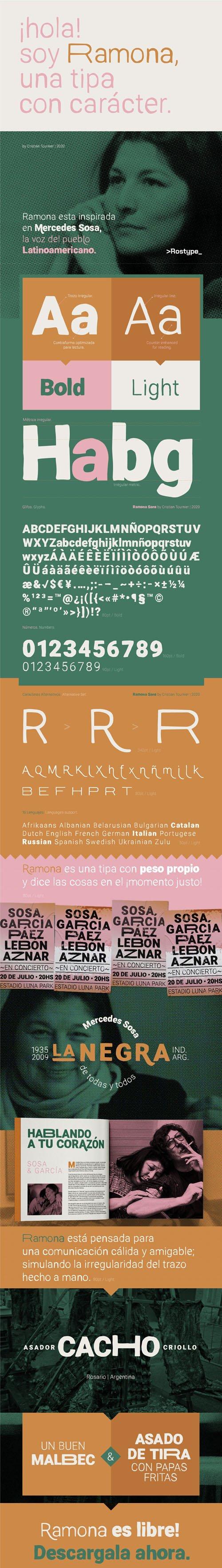 Ramona Display Font [2-Weights]