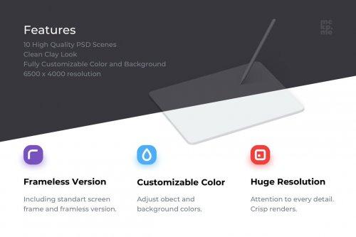 CreativeMarket - iPad Pro 2020 Mockups 5106675