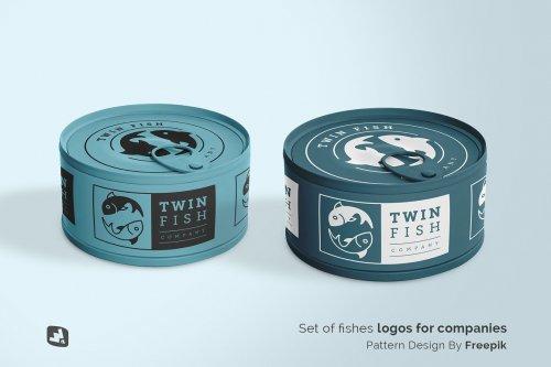 CreativeMarket - Circular Can Food Packaging Mockup 4827017