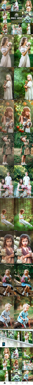 GraphicRiver - PRO HDR Portrait Photoshop Actions 27184929