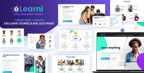 ThemeForest - Online Learning & Education LMS - eLearni v1.4 - 23413046