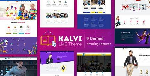ThemeForest - Kalvi v2.4 - LMS Education - 22463442