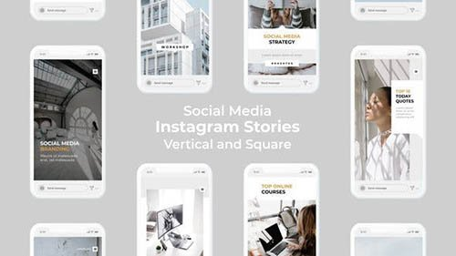 Social Media Instagram Stories | Vertical and Square 27501974
