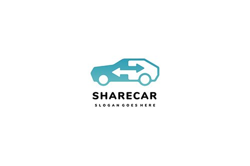 Share and Exchange Cars Logo