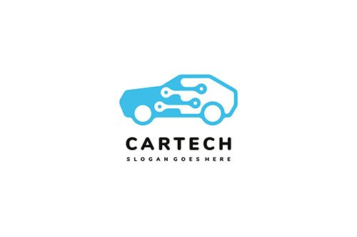 Car Technology Logo