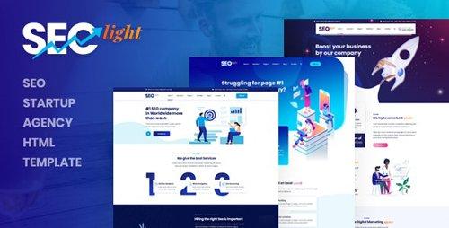 ThemeForest - Seclight v1.0 - Seo Startup Agency HTML Template - 26975338