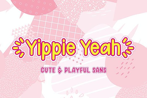 Yippie Yeah - Playful Sans & Slab