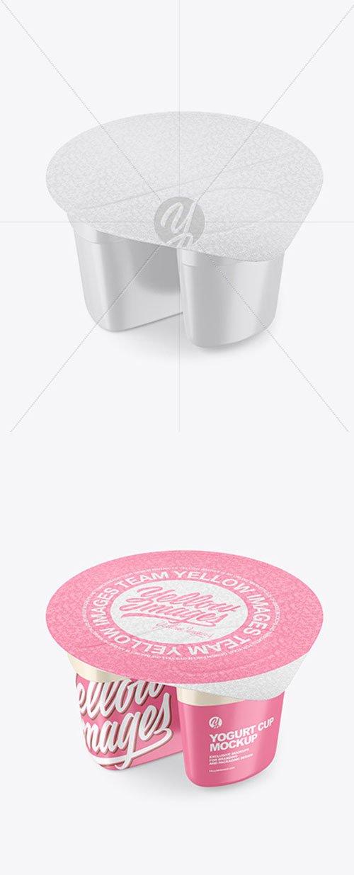 Yogurt Cup Mockup 55159