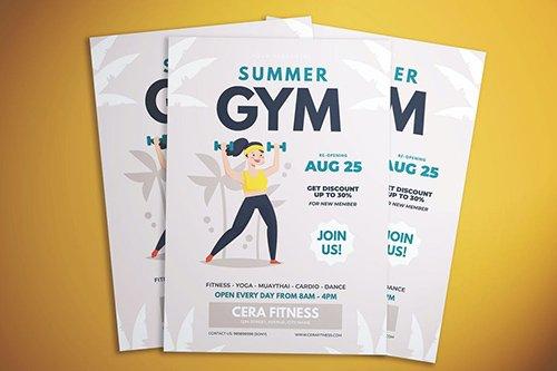 Summer Gym Flyer