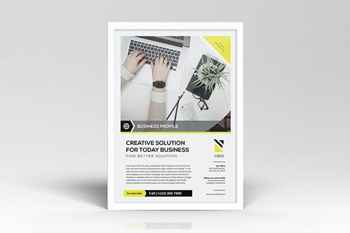 Simple Business Flyers Template