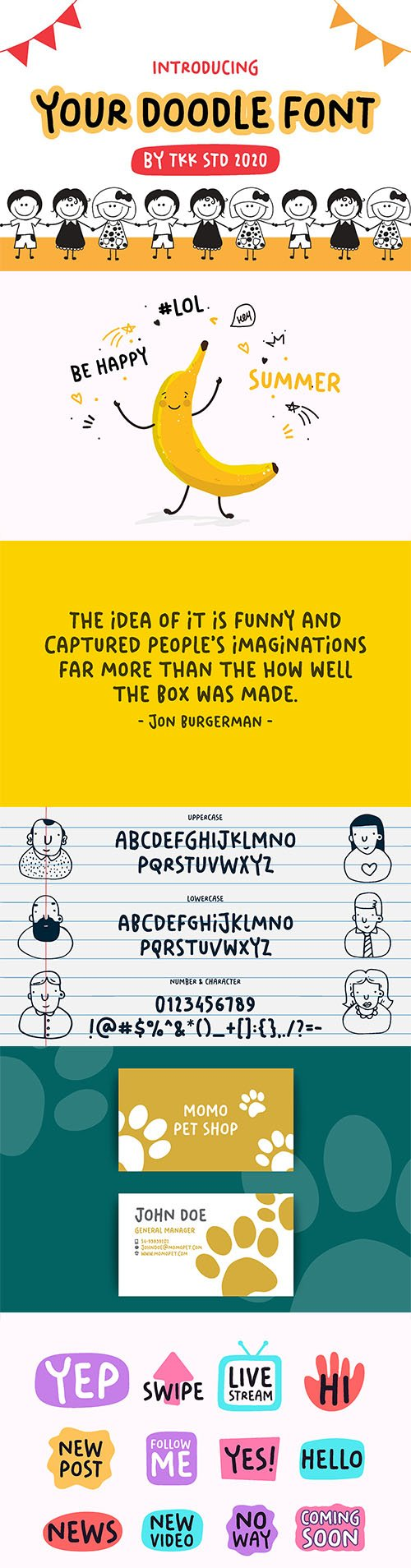 Your Doodle Font