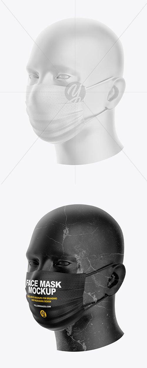 Face Mask Mockup 58783