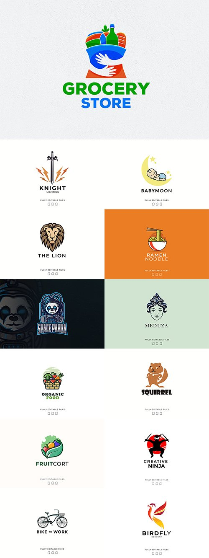 14 Logos pack