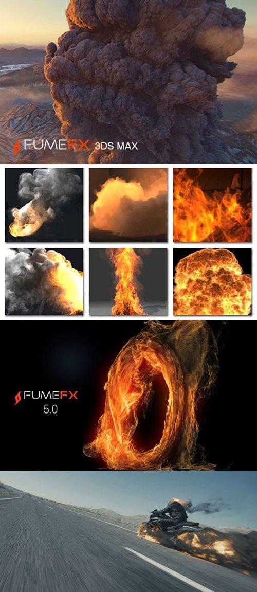 FumeFX 5.0.6 for Max 2014-2021