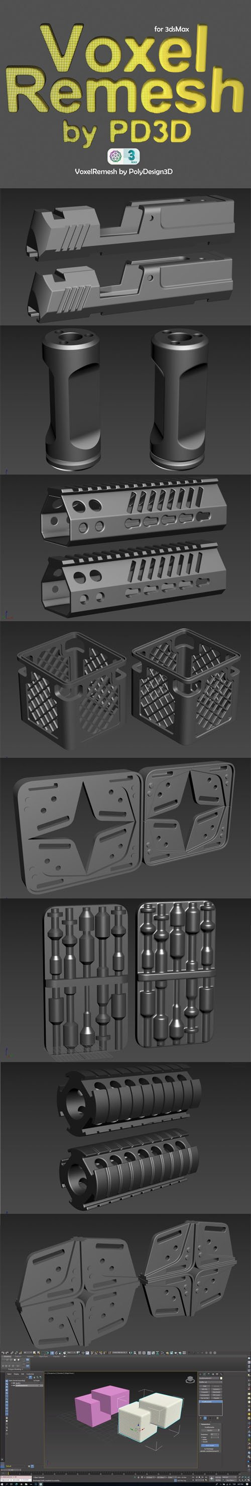 Voxel Remesh 1.0 for 3ds Max
