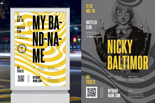 Concert/Band Poster Template