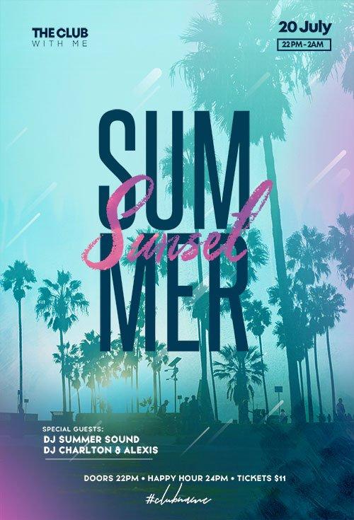 Days Of Summer - Premium flyer psd template