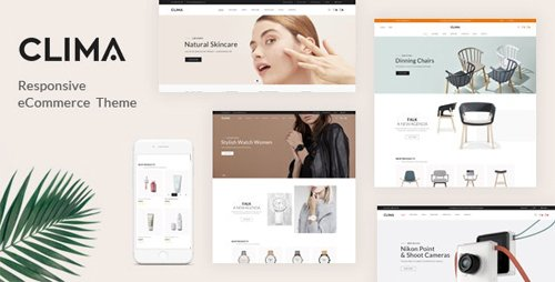 ThemeForest - Clima v1.0.0 - Responsive OpenCart Theme (Included Color Swatches) - 27560422