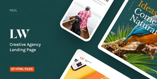 ThemeForest - Lewis v1.0 - Creative Agency Landing Page - 27659519