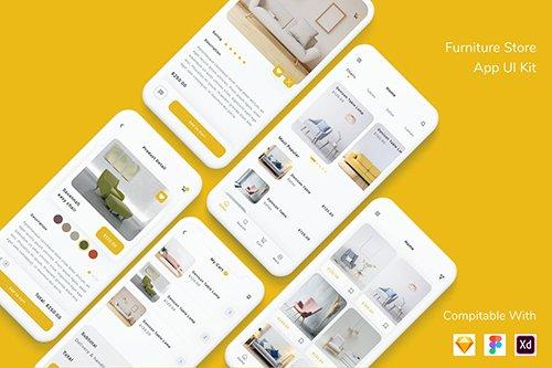Furniture Store App UI Kit