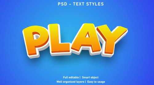 Text Effects Style