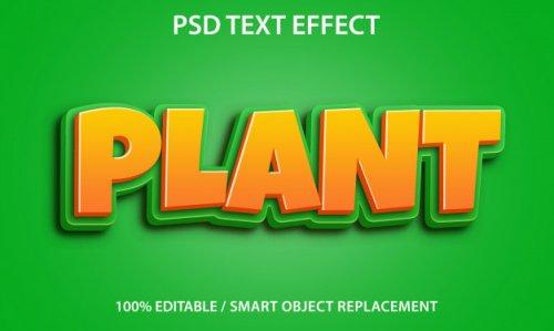 PSD text effect