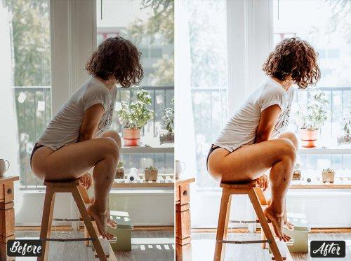 CreativeMarket - White Blogger Lightroom Presets 5123690