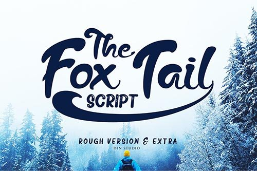 The Fox Tail - Font Duo