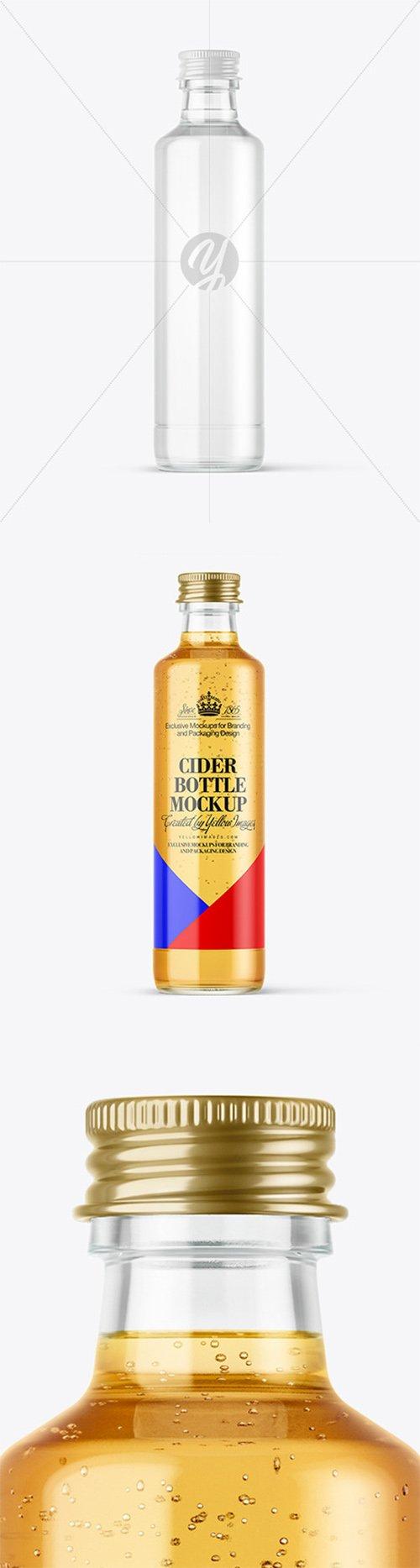 Cider Bottle Mockup 64711