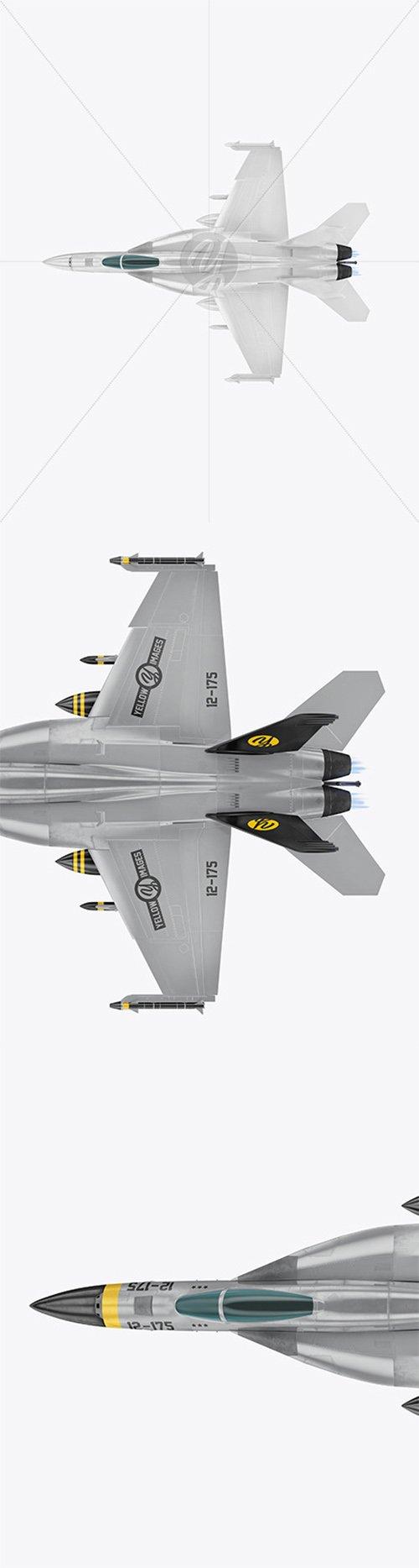 Combat Fighter - Top View 64636