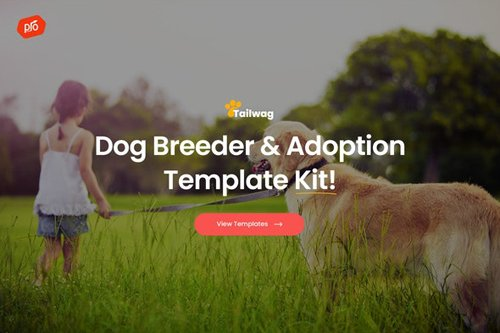 ThemeForest - Tailwag v1.0 - Dog Breeder & Adoption Template Kit - 27902186