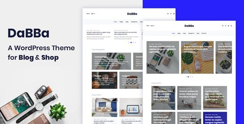 ThemeForest - Dabba v1.0.7 - A WordPress Theme For Blog & Shop - 23213008