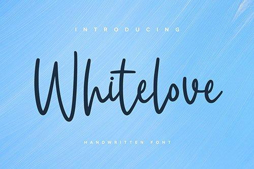 Whitelove - Handwritten Font