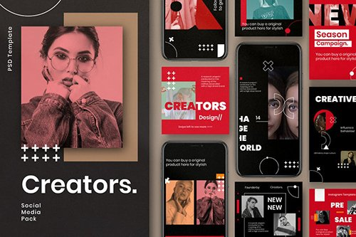 Creator - Insta Story & Post Social Media Vol.2