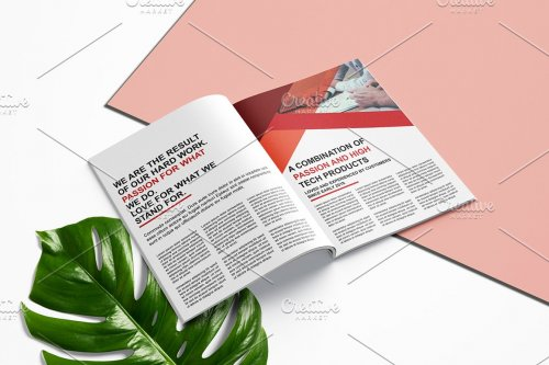 CreativeMarket - Annual Report Template V982 4442276