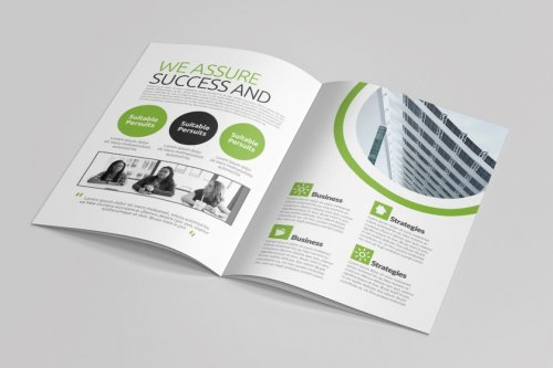 CreativeMarket - Business Portfolio Brochure 16 Pages 5059809