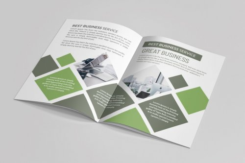 CreativeMarket - Business Catalogue Brochure 16 Pages 5055102