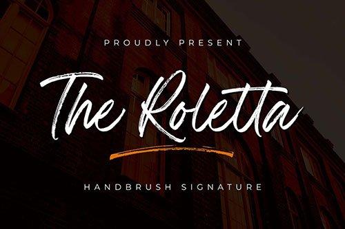 The Rolleta - Handbrush Signature