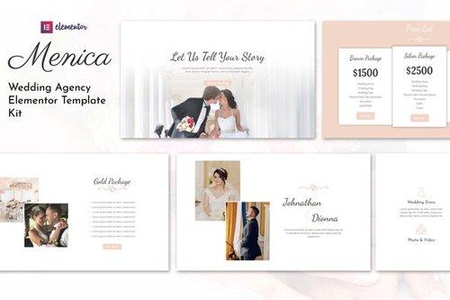ThemeForest - Menica v1.0 - Wedding Elementor Template Kit - 27749159
